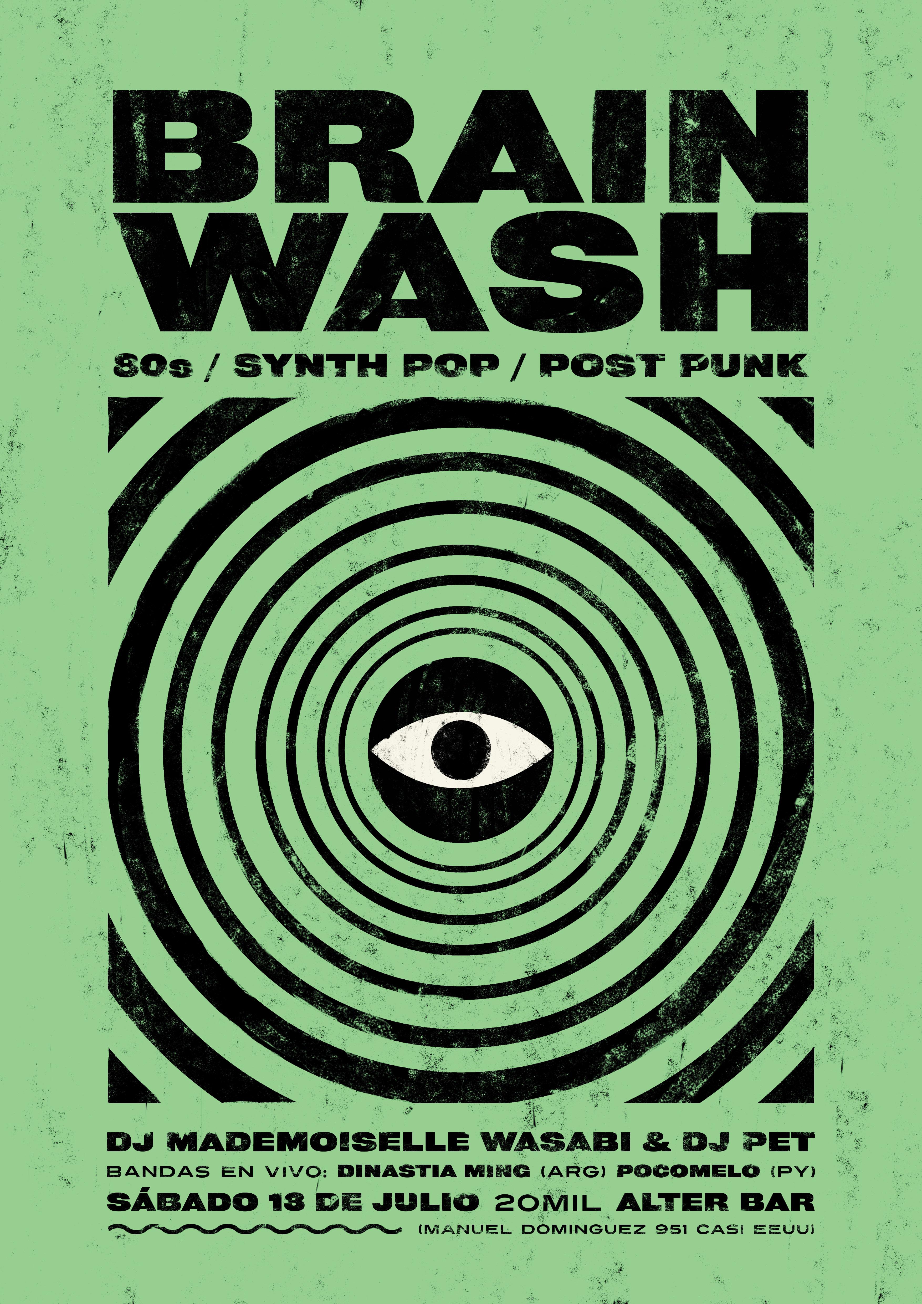 Afiche Brainwash